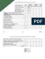 Vendor Evaluation (Service)