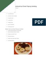 Donut Kentang