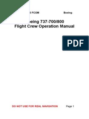 FCOM 003 All Online | Takeoff | Aviation
