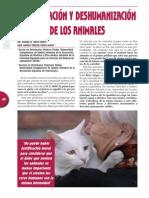 Humanización y Deshumanización de Los Animales
