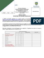 Application EIOH Preceptorship Application 1