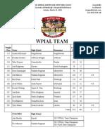 Wpial 2015 Team