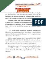 ICICI Prove Project Report-2014-15