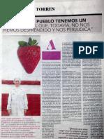 Ruth Lázaro gerente de Taisi en el Reportaje las Mujeres en el medio rural Aragonés El Periódico de Aragón.