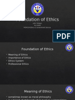 Foundation of Ethics Part 1