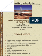Seismic Reflection 3 Lecture8!2!091220223607-Phpapp01