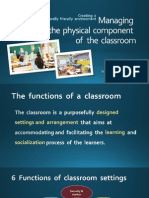 EDU3063 - Creating the physical classroom environment