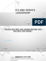Ethics and Service Leadership
