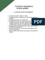 Layne Dixon Memorial Scholarship (1)