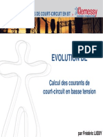 Calcul Des Courants de Court-Circuit en Basse Tension (Transparents)