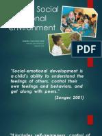 EDU3063 - Socio emotional management