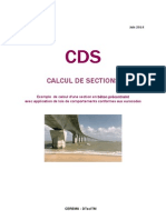 CDS Exemple Calcul Section BP