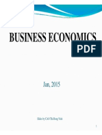 Slide 1. Introduction to Business Economics