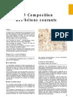 Composition Béton