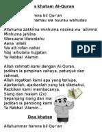 Doa Khatam AQ