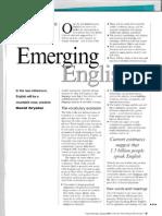 Emerging Englishes