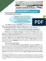 Apostila Geral de Filosofia - 1° ano F - 1° Bim - 2014