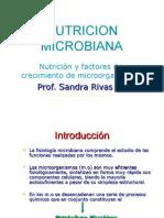 Nutricion y Factores de Crecimiento Microbiano