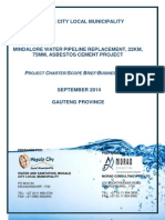 Mindalore Project Charter -Project Charter 15.09.2014