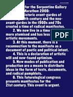 Manifesto Pamphlet