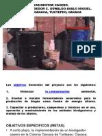 Biodigestor Casero