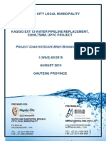 Kagiso Ext 13 Project Charter -Project Charter 02.09.2014
