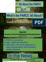 parcc-  it's not about the test!  february 26, 2015