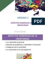 Unidad 1 Aspectos Generales de La Creatividad