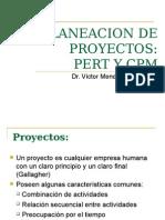 Planeacion de Proyectos PERT Y CPM