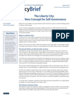Liberty City Policy Paper