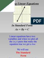 graph standard form