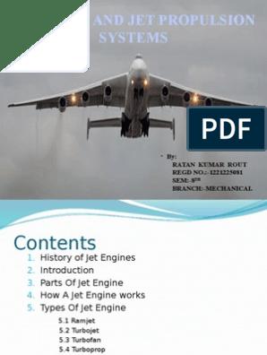 air propulsion   Jet Engine   Internal Combustion Engine