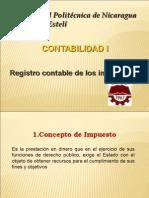 Presentacion de Registro Contable de Impuestos Upoli2