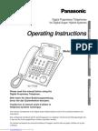Panasonic Operating Instructions