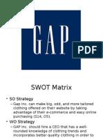 GAP Sample Case Analysis Part 2