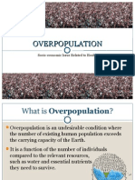 Overpopulation [Health Economics]