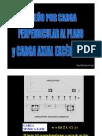 Diseño Carga Perpendicular