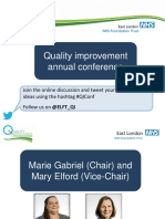 ELFT Annual QI Conference 2015