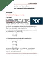 Funciones Actividad Aprendizaje 3