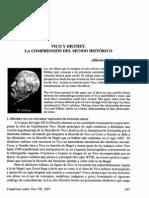 1997 Damiani - Vico y Dilthey La Comprensión Del Mundo Histórico