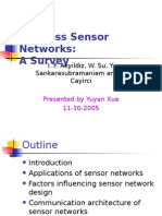 Wireless Sensor Network-A Survey