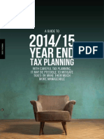A Guide to 2014-15 Year End Tax Planning