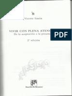 Vivir Con Plena Atención - Vicente Simón