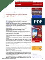 BLOG - Formalidades a Tener en Cuenta Para Llevar El Registro de Compras