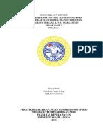 Laporan Pendahuluan dan laporan kasus Stroke trombotik