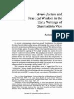 1998 Miner - Verum-factum and Practical Wisdom in Vico