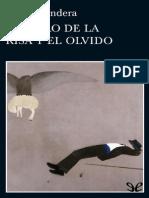 El Libro de La Risa y El Olvido de Milan Kundera