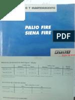 Manual de Uso y Mantto. Palio fire 1.3 16v