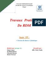 Rapport Tp Rdm