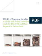 IAS 19 Employee Benefits